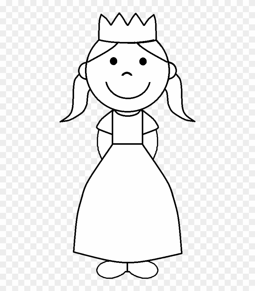 Black Princess Crown Clip Art Black And White Angel Basit