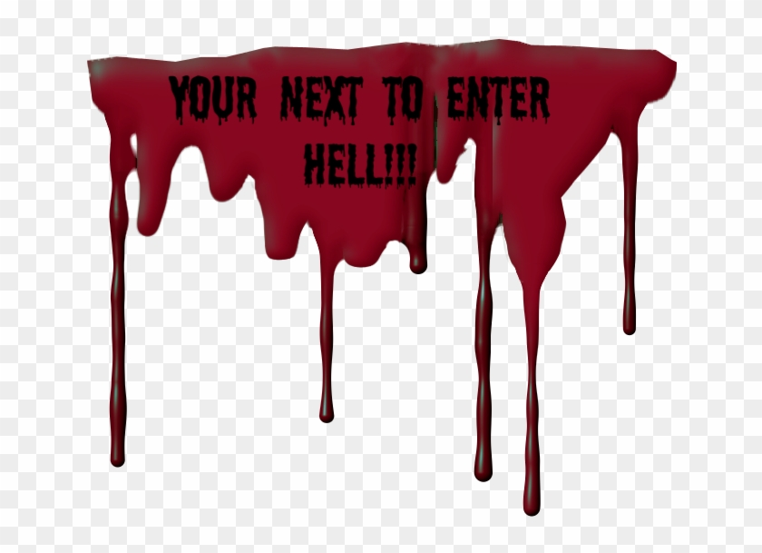 Dripping Blood - Transparent Blood Dripping Gifs Clipart #1215450