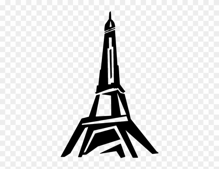 Tower, Eiffel Tower, Paris, France, Tourism, Building - Background Menara  Eiffel Hitam Putih Clipart (#1221145) - PikPng