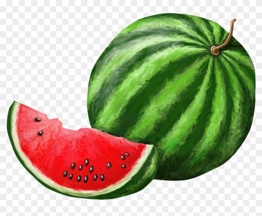 Watermelon Png Background - Watermelon Clipart #1223722