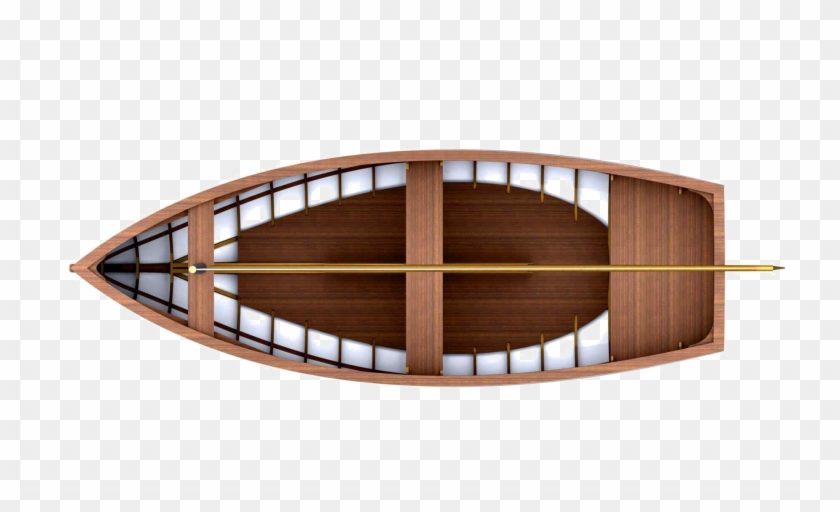 Wood Boat Free Png Image - Wooden Boat Top View Png Clipart@pikpng.com