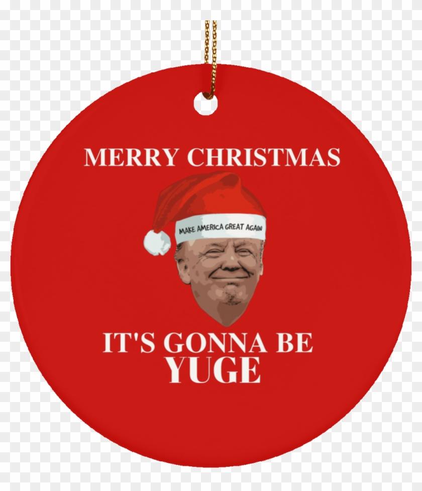 Donald Trump Christmas Ornament Clipart #1230382