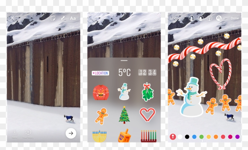 Now Even More Like Snapchat, But With Better Video - Instagram Story Sticker Clipart #1235327