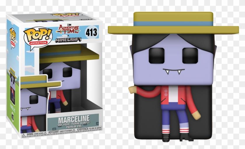 Marceline Minecraft Funko Pop Vinyl Figure - Marceline Pop Vinyl Clipart #1237707