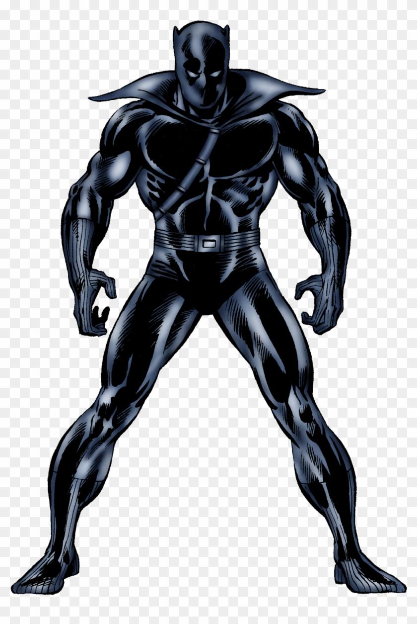 Pantera Negra Marvel Png - Black Panther Marvel Comics Png Clipart #1237963