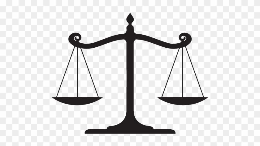 Balance - Balanced Scale Clipart #1242359