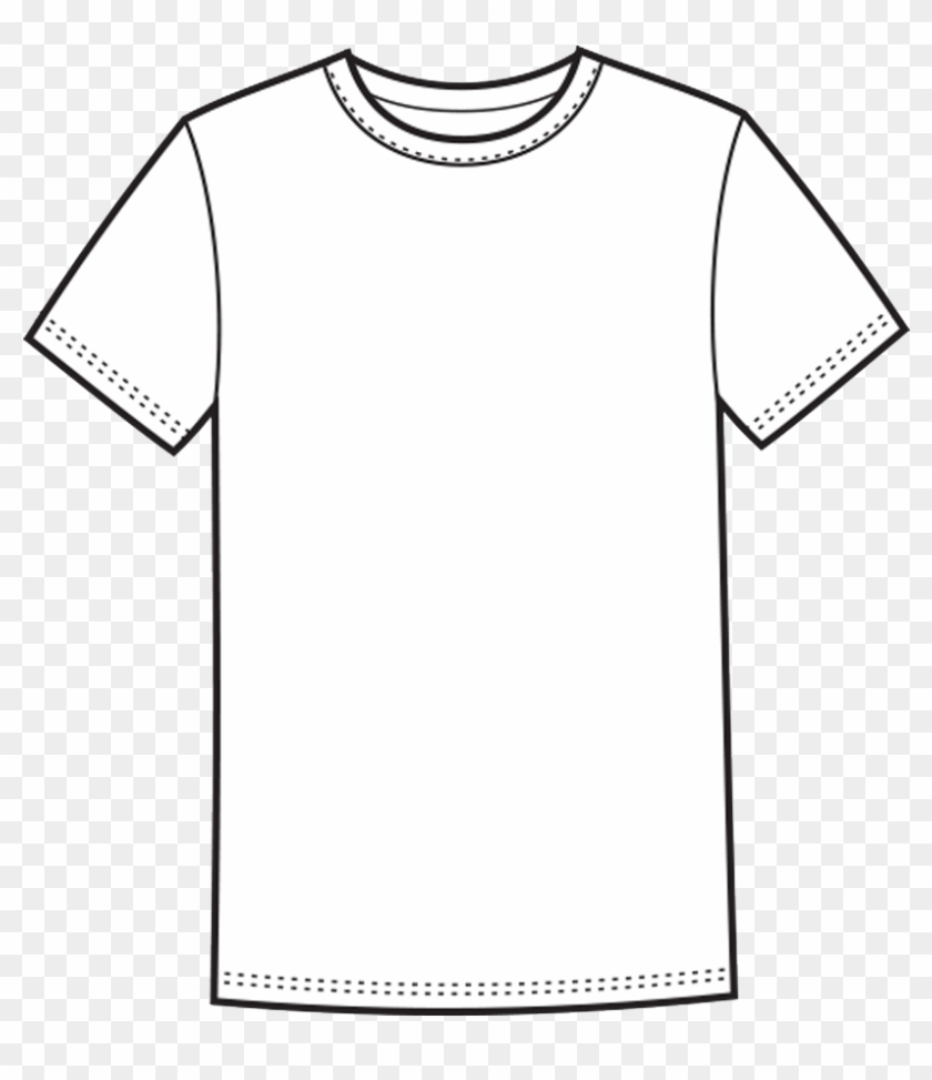 T-shirt Template Free Png Image - T-shirt Clipart #1245578
