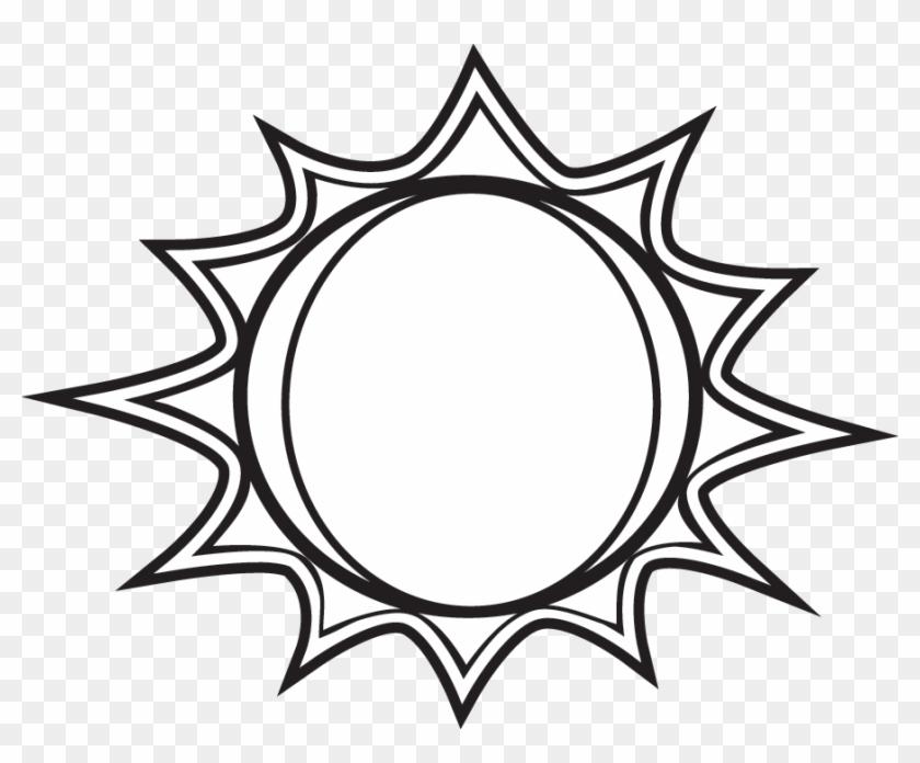 Sun Black And White Black And White Sun Clipart Free Clip Art