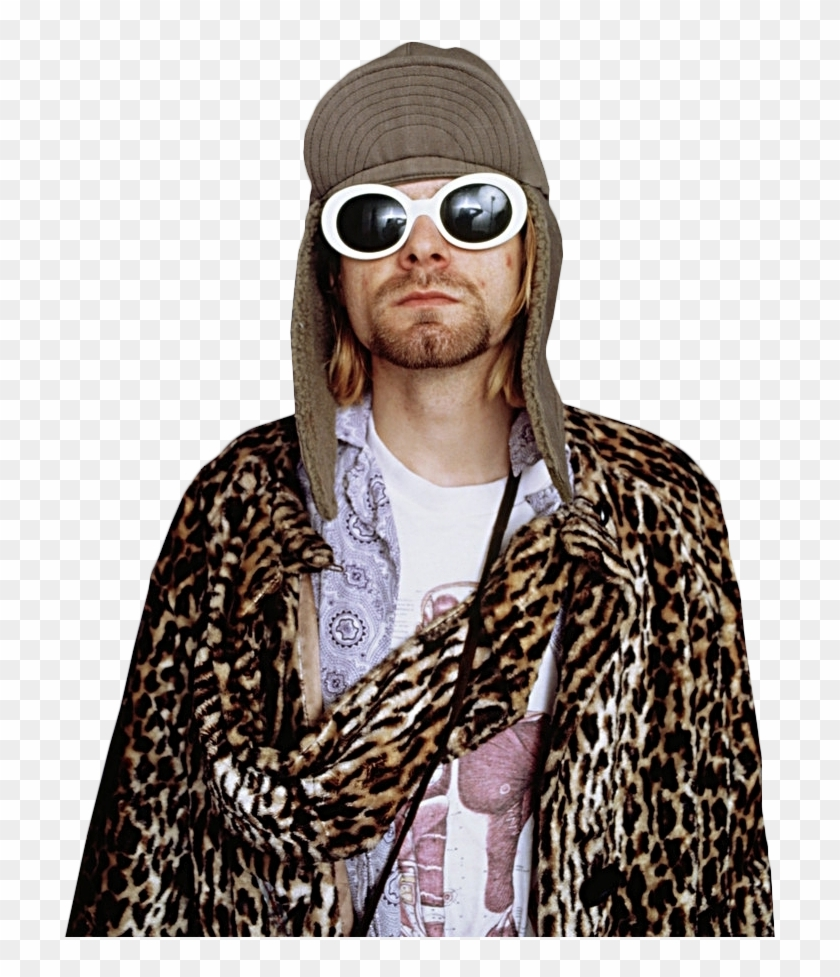 Kurt Cobain, Nirvana - 90s Kurt Cobain Glasses Clipart #1250308