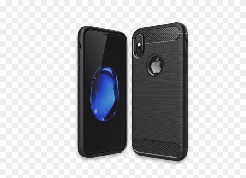 664-luxury Shockproof Armor Carbon Fiber Case For Iphone - Huawei P20 Lite Tok Clipart #1258408