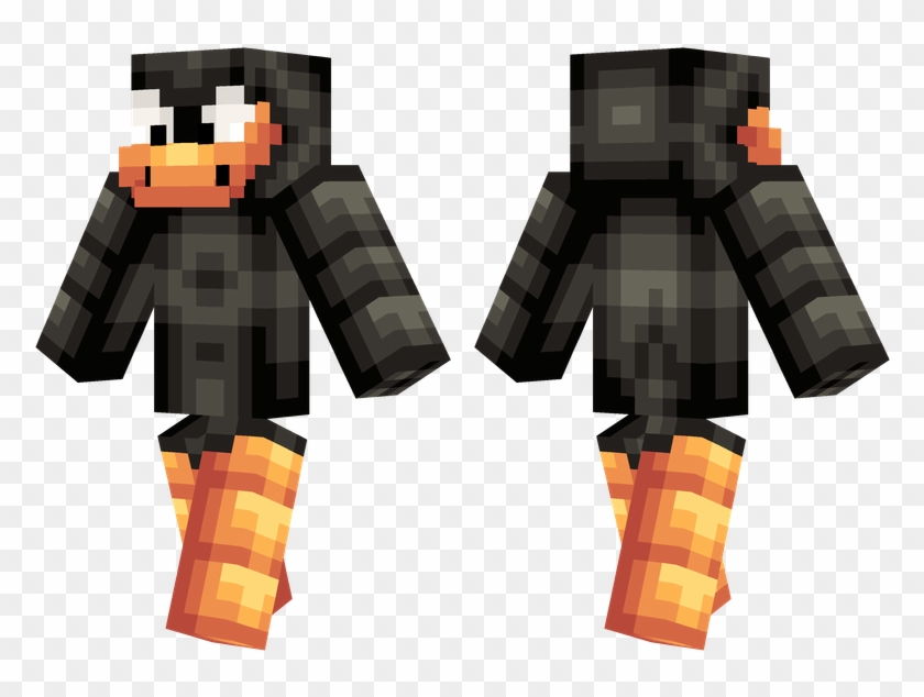 Daffy Duck - Minecraft Skins Cool Green Clipart #1260334