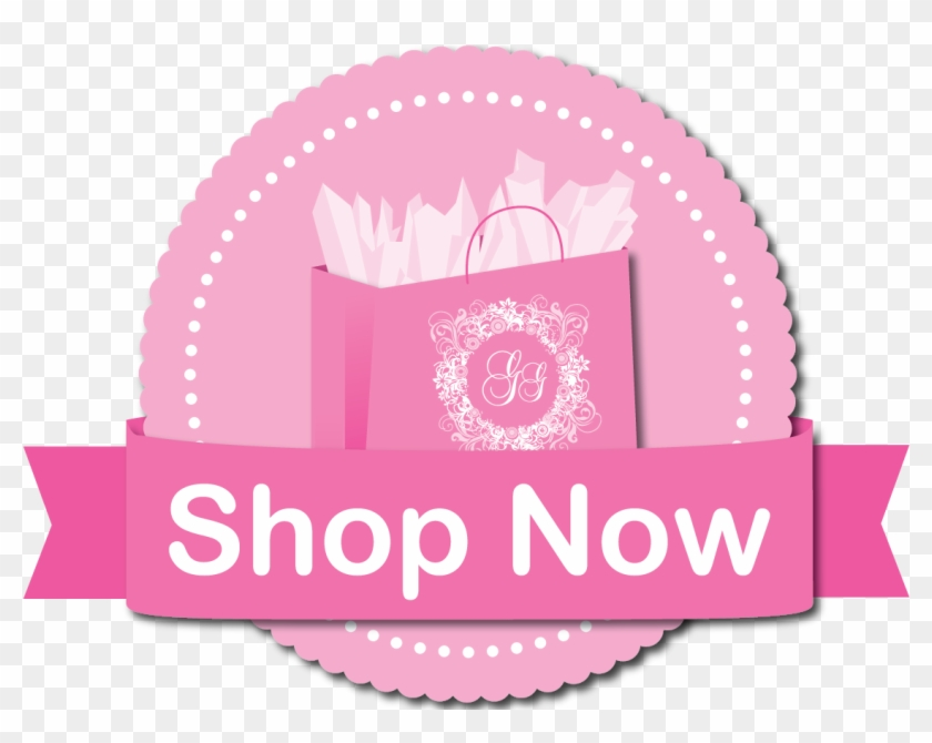 Book Your Gg Birthday Party On Line - Shop Now Button Pink Clipart #1265863