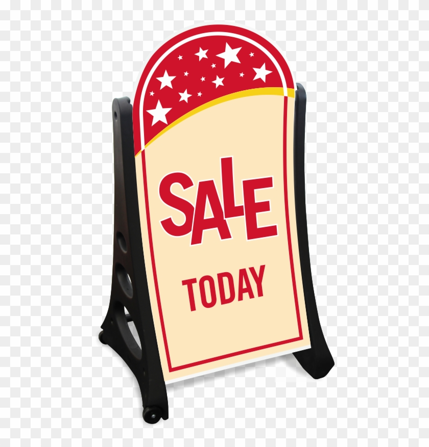 Sale Today A-frame Portable Sidewalk Sign Kit - Make Today Ridiculously Amazing Clipart #1267260
