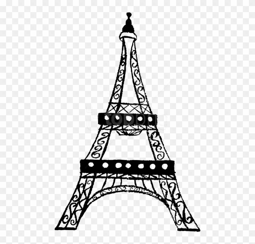 Free Png Eiffel Tower Png Images Transparent - Eiffel Tower Clipart Transparent #1275923