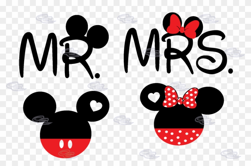 New Mickey, Minnie Posing Clipart - Full Size Clipart (#2651577) -  PinClipart