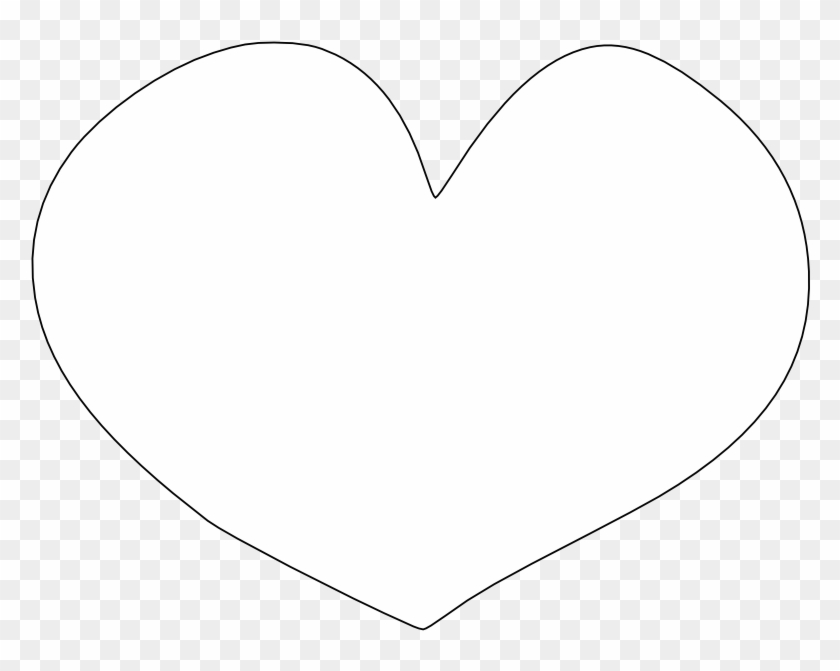 Heart Clipart Black And White - Heart Clipart Black Background - Png Download #1293303