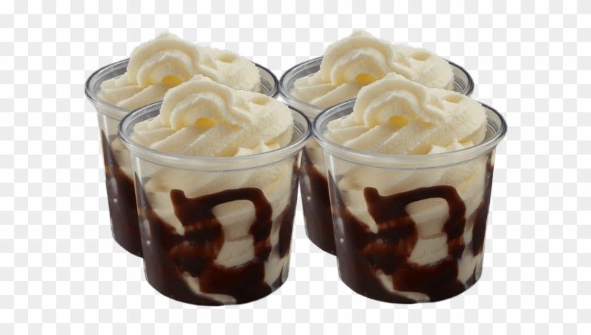 Mini Choc Sundaes 4 Pack - Chocolate Brownie Clipart #1295559