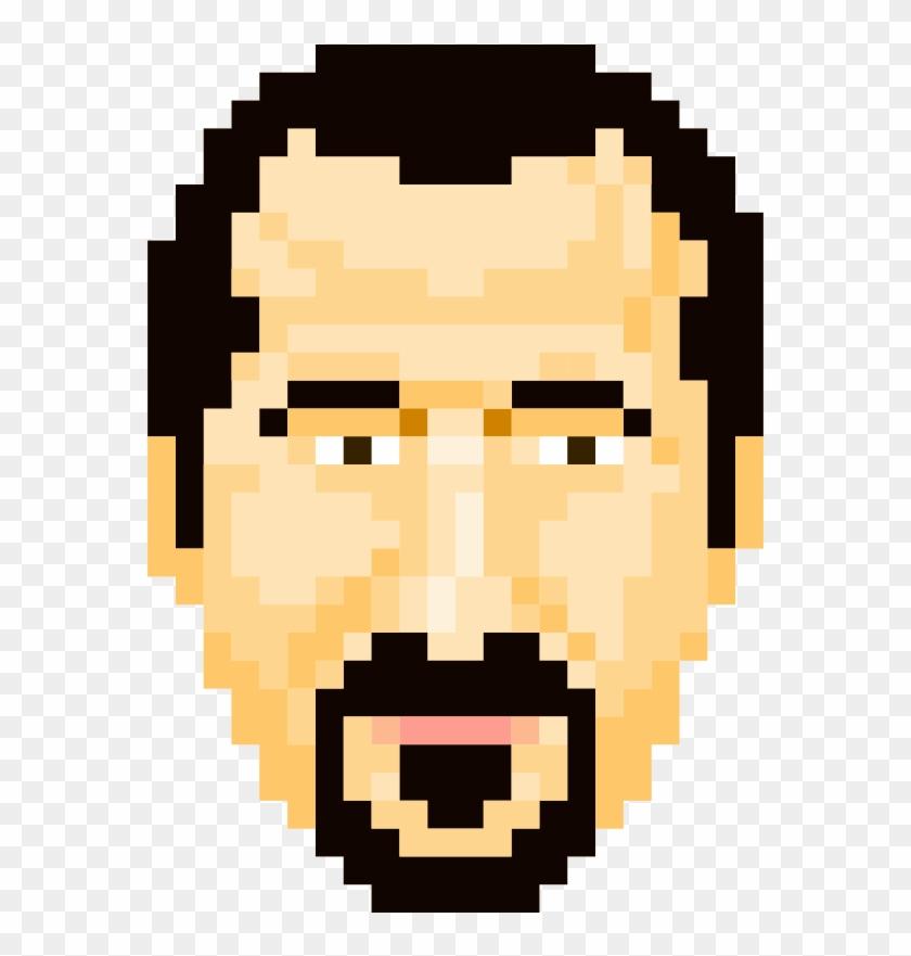Easy Pixel Art Of People Clipart #1297252
