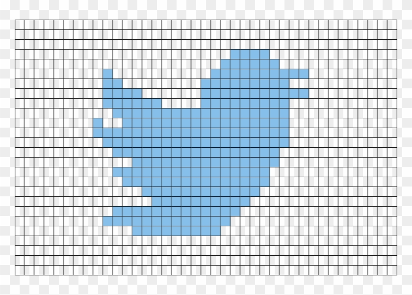 Twitter Logo Pixel Art Ndash Brik Mario Bullet Bill Pixel