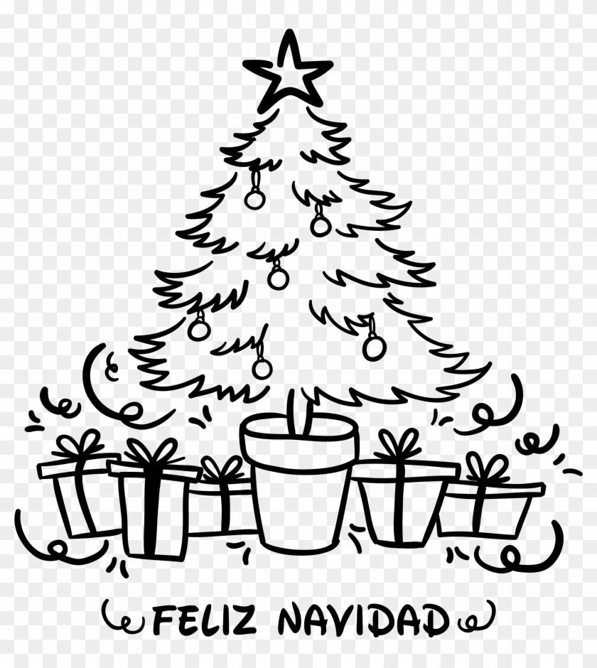 Vinilo Decoración Árbol Navidad - Arbol De Navidad En Vinilo Clipart #1299809