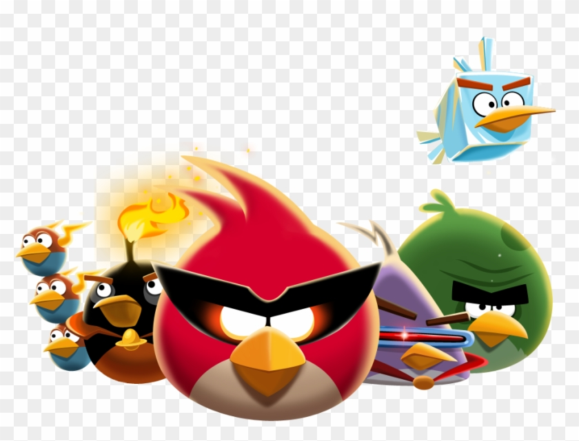 Angry Birds The Flock Cute Angry Birds Space Clipart 132196 Pikpng