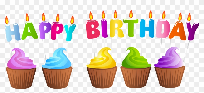 Download Birthday Candles And Cakes Png Png Images - Transparent Happy Birthday Clip Art #133025