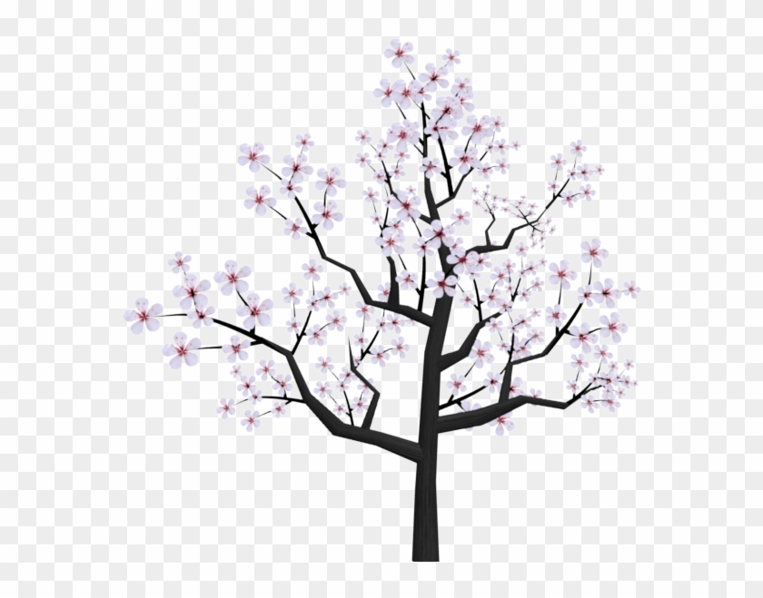 Cherry Blossom Drawing Tumblr At Getdrawings - Japanese Cherry Blossom Tree Cartoon Clipart #134481