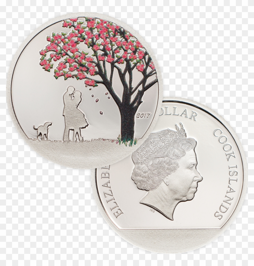 """Part Of The Collection """"snow Globes"""" - Drawing Colored Pencil Cherry Blossom Tree Clipart #135308"""