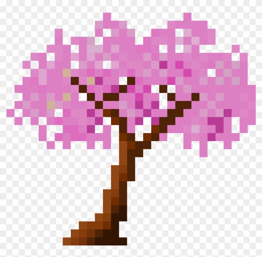 Cherry Blossom Tree - Illustration Clipart #136043