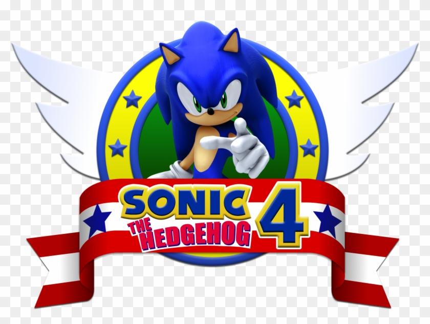 Sonic Sonic 4 The Hedgehog Logo 2 Png Imagens E Moldes Sonic The Hedgehog 4 Episode 2 Clipart 138066 Pikpng