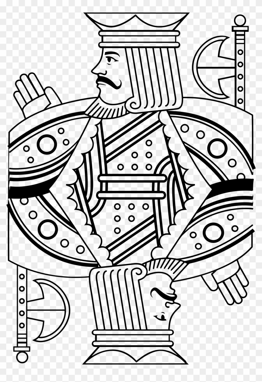 Banner Black And White Library Drawing At Getdrawings - King Line Drawing Clipart #138314