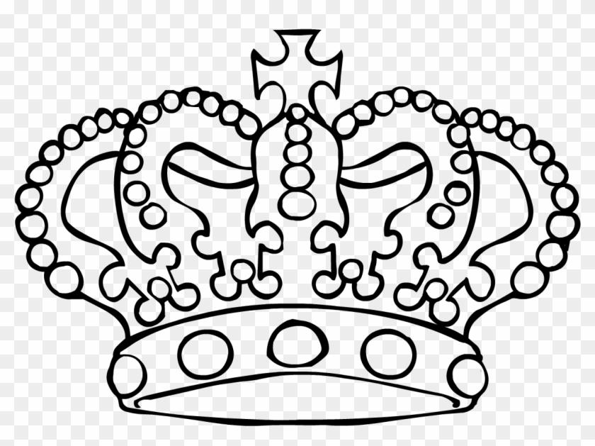 Free Outline Download Clip Art On Clipart - King Crown Outline - Png Download #138433