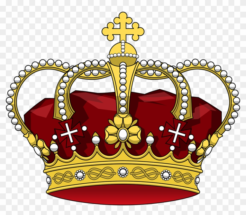 Drawing Monarch Free Commercial Clipart - King Henry Ii Crown - Png Download #138645