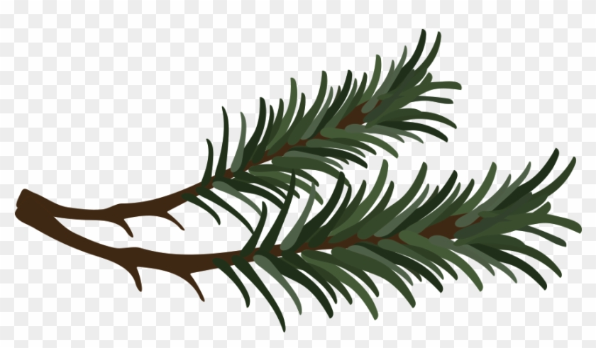 Vector Free Stock Buncee This Is A Sticker Of Needles - Pine Needle Clipart - Png Download #1300887