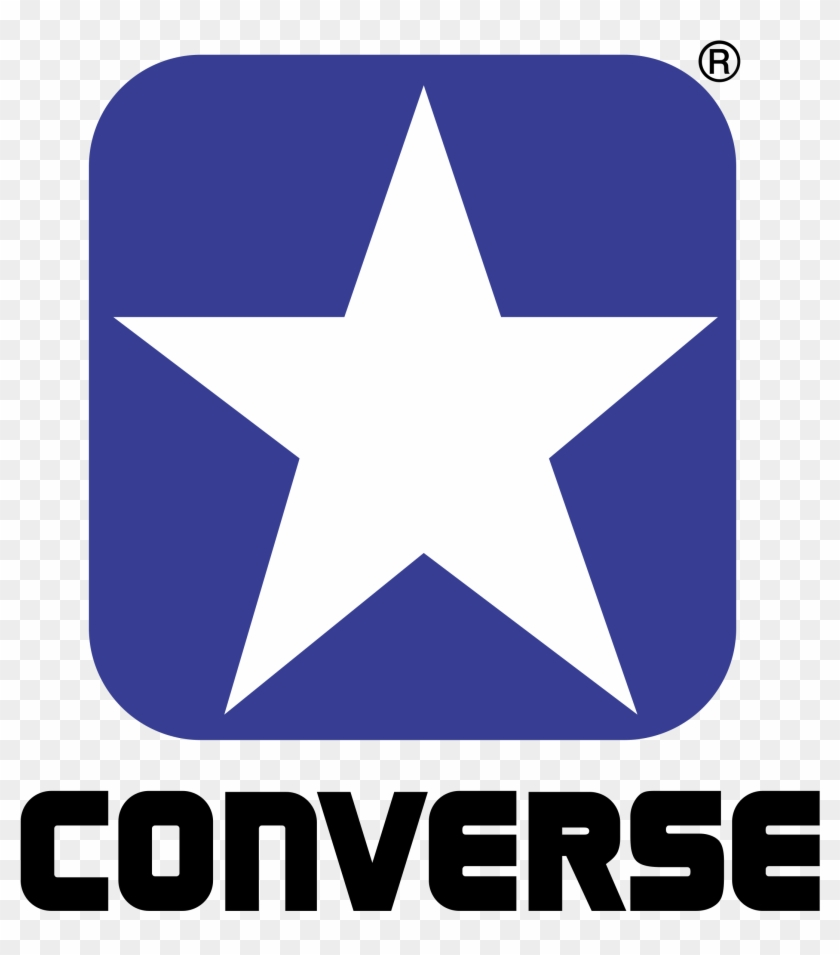 Converse Logo Png Transparent - Logo Converse Clipart #1302934