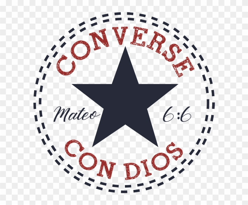 Converse - Transparent Converse All Star Logo Clipart #1303088