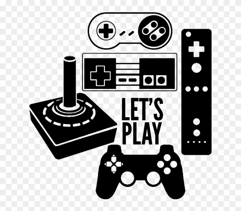So Make Your Own Nintendo Gaming Controller Shirt With - Video Game Controllers Vector Clipart #1304365