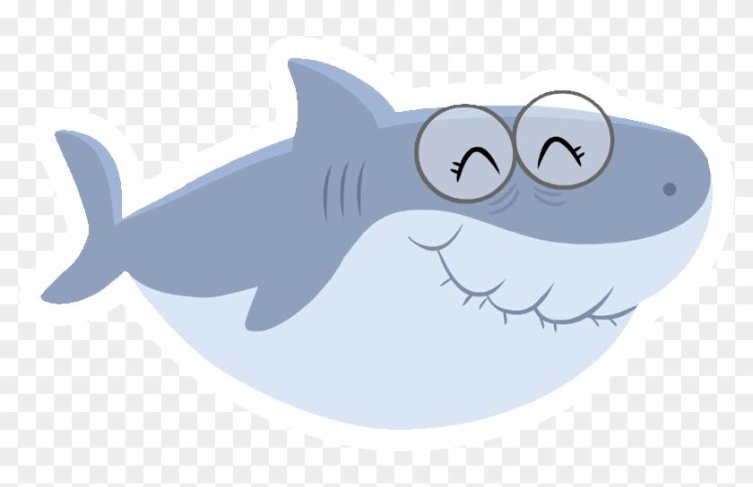Cool Free Printable Baby Shark Pinkfong Birthday Invitation - Baby Shark Grandma Shark Clipart #1304787