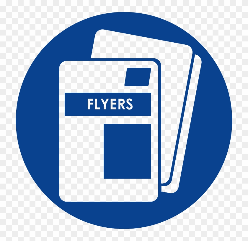 Flyer Icon - Flyers Icon Clipart #1305962