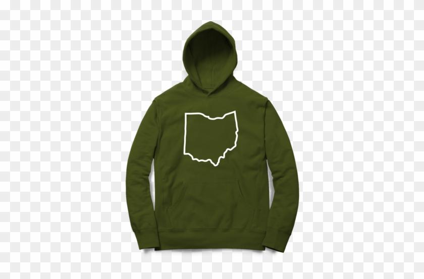 Big Ohio Hoodie - Hoodie Clipart #1307038