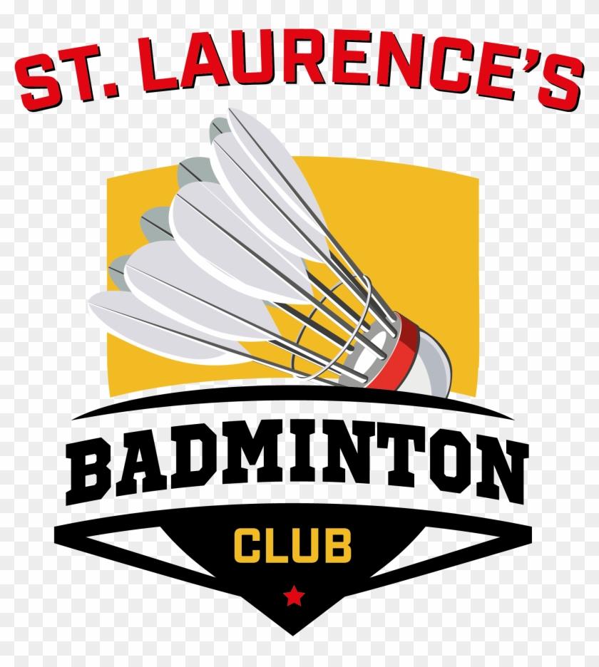 Laurence's Badminton Club Logo - Logo Badminton Club Png Clipart #1317675
