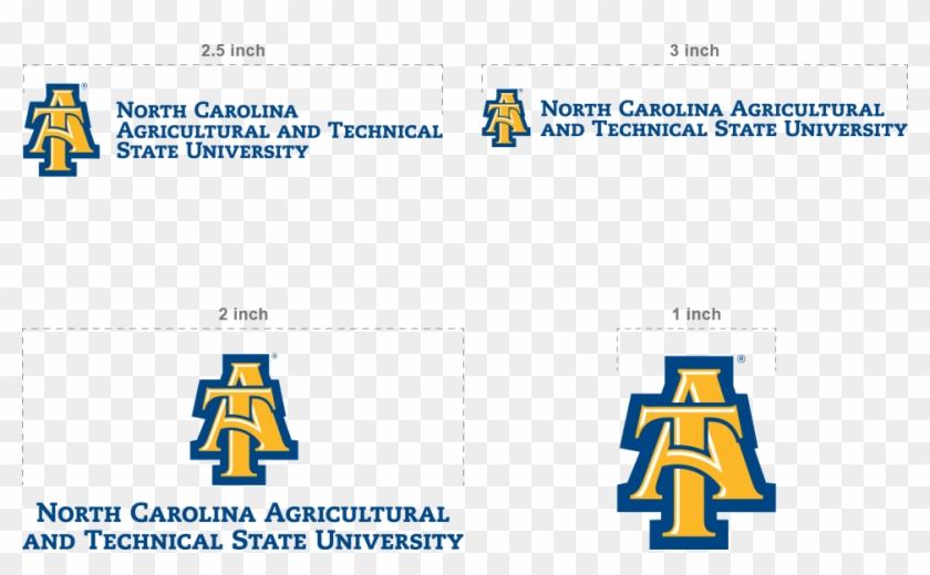 Showing Nc&t Logo - North Carolina A&t State University Clipart #1319252
