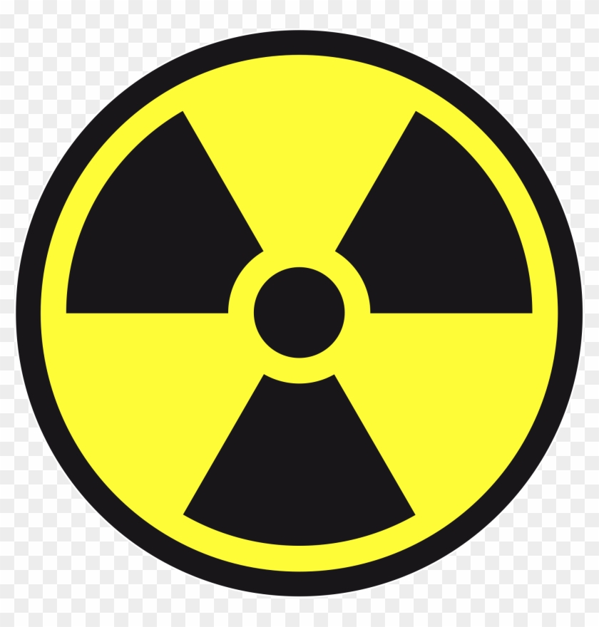 New Svg Image - Transparent Background Radioactive Symbol Png Clipart #1325929