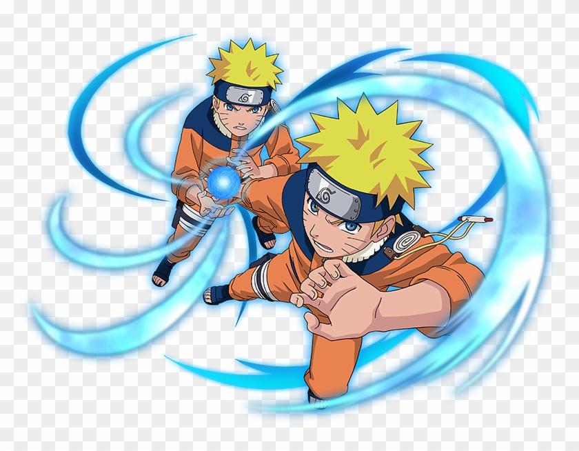 Naruto Rasengan Png - Naruto Uzumaki Rasengan Mastered Clipart #1331554