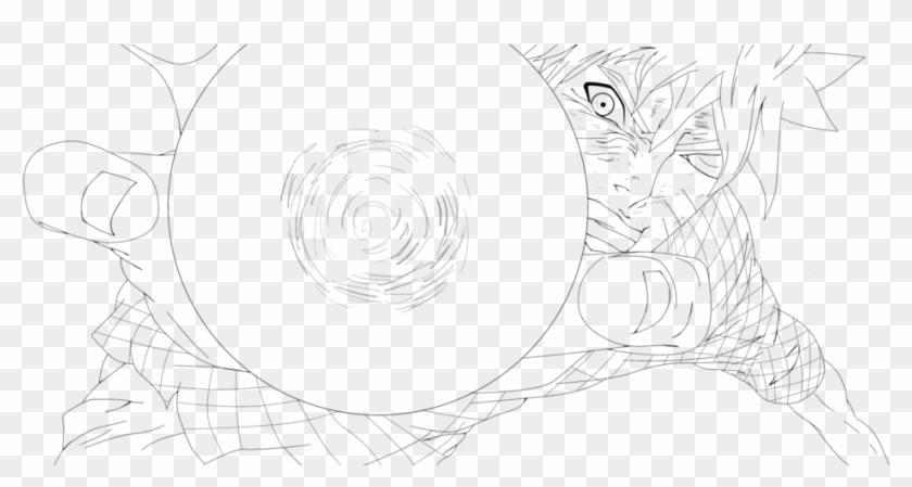 Naruto Rasengan Coloring Pages , Png Download - Circle Clipart #1331729