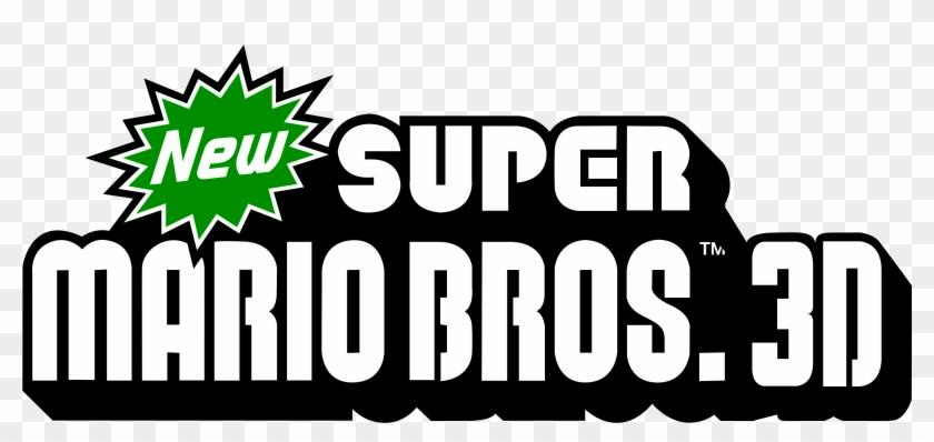 New Super Mario Bros Logo Png Png Download New Super Mario