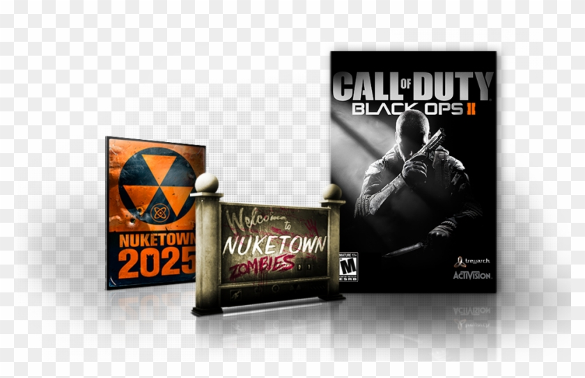 Included With The Digital Deluxe Edition - Call Of Duty Black Ops 2 Warfare Xbox 360 Clipart #1334796