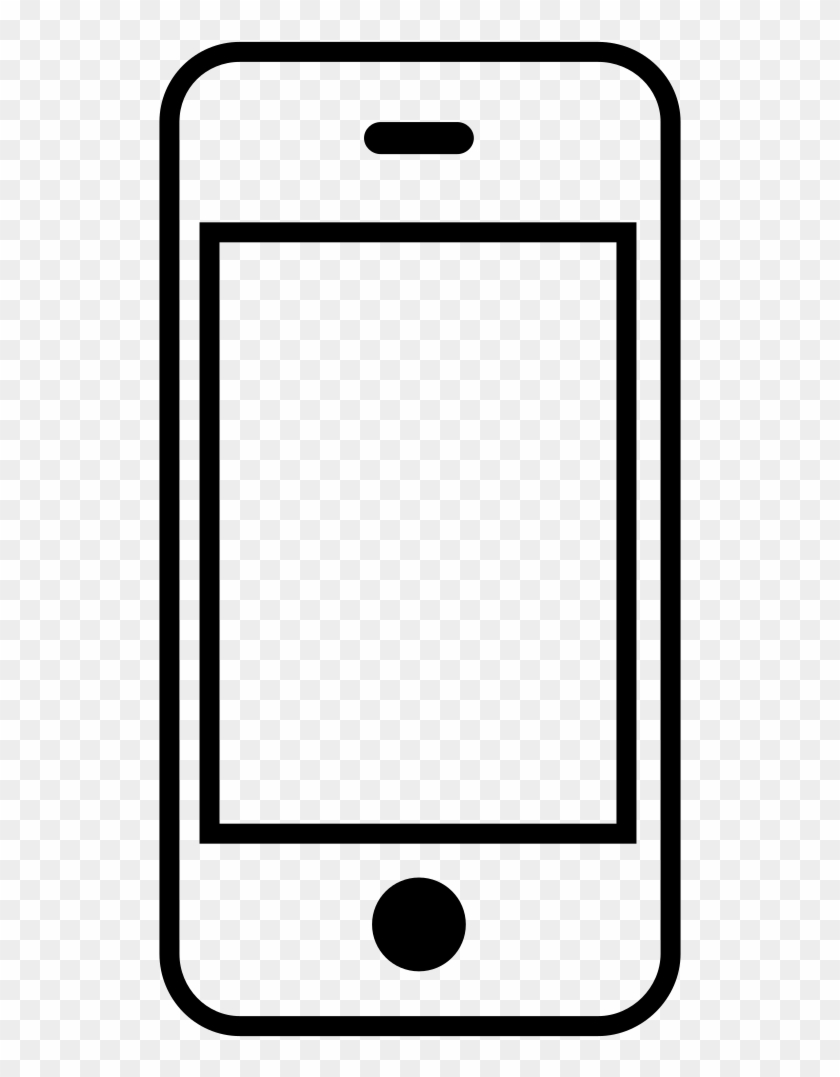 Peachy Design Iphone Coloring Page Ultra Pages 7 Printable - Mobile Phone Outline Clipart #1341041
