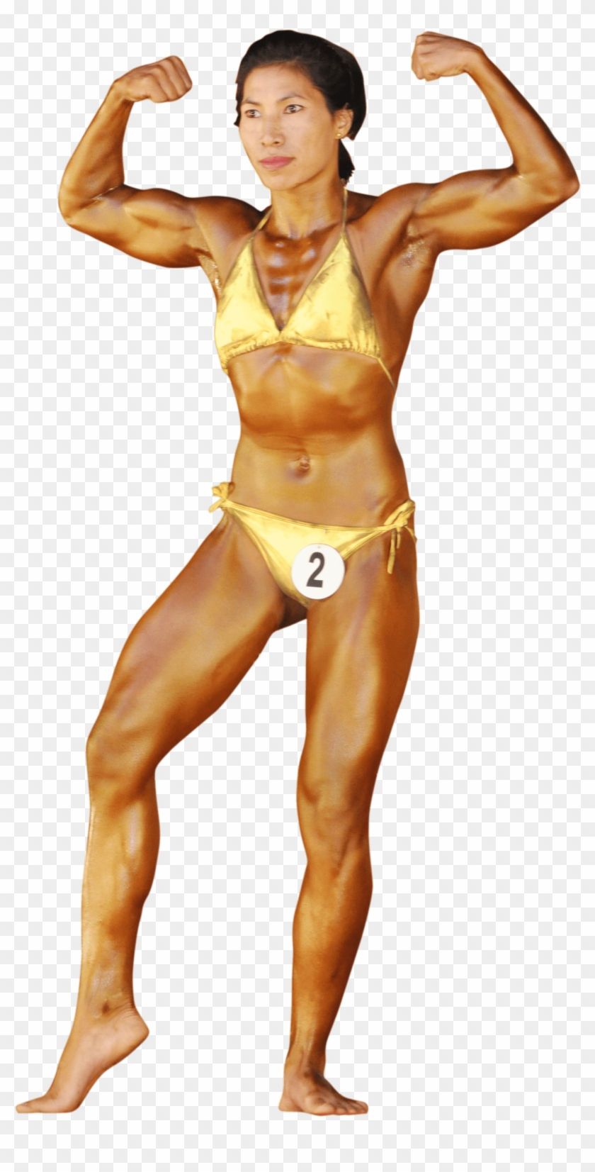 Physical Fitness Female Bodybuilding Bodybuilder Transparent Clipart 1341998 Pikpng
