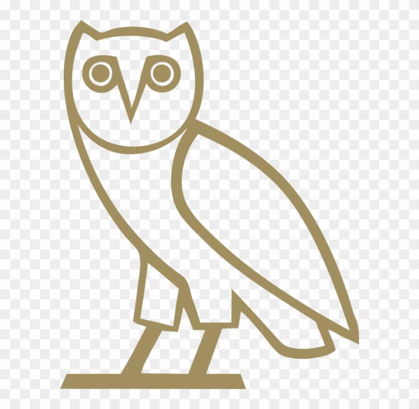 Ovo's Signature Owl Logo - Ovo Owl Transparent Clipart #1345604